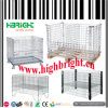 Heavy Duty Steel Wire Mesh Stackable Storage Cage