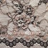 Metallic Yarn Lace Fabric (CY-LW0205)