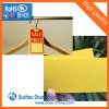 Colored Matt Yellow Rigid PVC Opaque Plastic Sheet for Clothes Tags