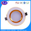 Round Style/Golden Edge 7W SMD LED Downlight/LED Down Lighting