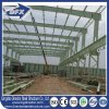 Two Storey Metal Roof Prefabricated Steel Structure Frame Warehouse