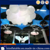 Hot Selling Party Ceiling Decoration Lighting Inflatable Cloud with LED Light for Sale