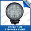 27W Round LED Work Lamp/LED Driving Light/Work Light