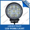 27W Round LED Work Lamp/LED Driving Light/Work Light