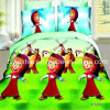 Catoon Design Bed Sheet Fabric for Home Textile to Gutemala
