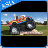 2015 New Products Inflatable 3 in 1 Fire Truck Bouncer Slide, Inflatable Truck Slide Price