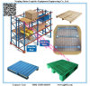 Heavy Duty Double Deep Pallet Rack for Warehouse Storage System