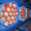 Bs1387, En39, Bs1139 Galvanized Painted Steel Pipes for Sprinkler