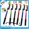 Extendable Foldable Clip Aluminum Bluetooth Kit Selfie Stick for Mobile Phone