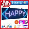 P13 RGB Outdoor 39X14inch 7-Color 3D Effects LED Signs WiFi Wireless Control LED