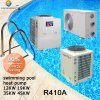 All Weather Thermostat 32deg. C for 25~300cube Meter Swimming Pool 12kw/19kw/35kw/70kw/105kw Titanium Tube Cop4.62SPA Heater Pump