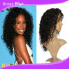 100% Human Virgin Remy Malaysian Hair Wig 14inch Deep Wave Lace Front Wig