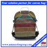 Ladies Multi-Color Designer Canvas Campus Backpack
