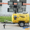 Kubota Silent Waterproof Portable Hydraulic Mobile Light Tower
