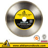 Hot Pressed Diamond Wet Saw Blade for Glass Lapidary Cutting
