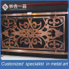 Customzied Bronze Carving Pattern 304#Stainless Steel Railing/Handrail