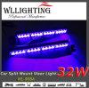 LED Dash Deck Split Mount Visor Light Blue 32 W