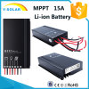 MPPT 15A 12V/24V Solar Controller Suit for Li-ion Battery Sm1575-Li