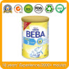 800g Milk Powder Metal Tin Can with PE Plastic Cover