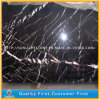 China Black Nero Marquina Marble for Tiles, Countertops, Table Tops