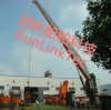 Bulk Cargo Ship Marine Crane Telescopic Knuckle