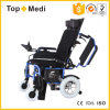Topmedi New Design Product Incliner Backrest Folding Electric Power Wheelchair for Handicapped
