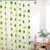 Custom Design Printed Anti-Mildew Waterproof PEVA Bathroom Shower Curtain (15S0041)