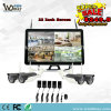22 Inch LCD Screen Camera System Network Video Recorder Sets