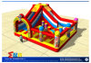 Circus Themed Inflatable Castle