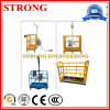 Single Column and Double Cage Construction Lifts Suspended Platform