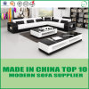 Fashion Design Modern Miami Leather Sofa Set