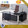 New Metal with Drawers Office Table Wooden Office Desk (NS-GD015)