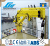 Electric Hydraulic Jib Deck Crane