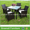 Kd Style 4 Seater Rattan Dining Table and Chairs Set