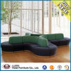 Chinese Modern Wooden Sofa for Lobby Furniture