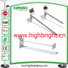 Retail Metal Wire Hanging Display J Hook for Supermarket Gondola Shelf