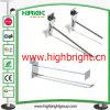 Retail Metal Wire Hanging Display J Hook for Supermarket Gondola Shelves