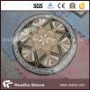 Round Flower Design Marble Stone Water Jet Pattern/Medallion