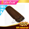 Indian Remy Light Brown Color Human Virgin Hair Extension Lbh 051