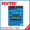 Fixtec Hand Tools 6PCS CRV Screwdriver Sets with Soft Handle