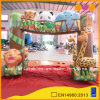 Kindergarten Inflatable Zoo Arch Door for Promotion (AQ53188)