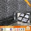 Modern Style Hotel Bathroom Plating Glossy Glass Mosaic (M815066)