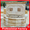 Stone Marble Wall Fountain for Outdoor Garden Ornament