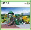 Kaiqi Large Forest Natural Themed Children′s Playground with Slides (KQ50038A)