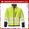 Custom Safety Men Soft Shell Reflective Jacket