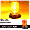 Forklift LED Mini Beacon in Amber Color, 110-120AC Voltage