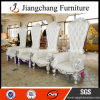 Manufacturing Wood Manual Sculpture Throne Chair (JC-K07)