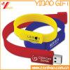 Custom Printed Logo USB Silicone Wristband (YB-WR-02)