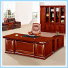 Modern Cherry Veener Wood Executive Manager Computer Office Table