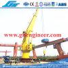 Hydraulic Telescopic Boom Pedestal Offshore Crane 9t 12t